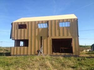 visite-approche écohabitat-portes ouvertes sur l'écohabitat en Bretagne
